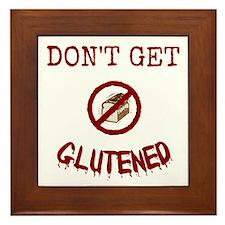 Don't Get Glutened Framed Tile
