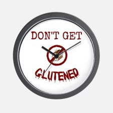 Don't Get Glutened Wall Clock
