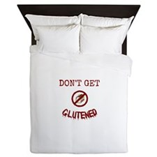 Don't Get Glutened Queen Duvet