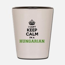 Funny Hungary Shot Glass