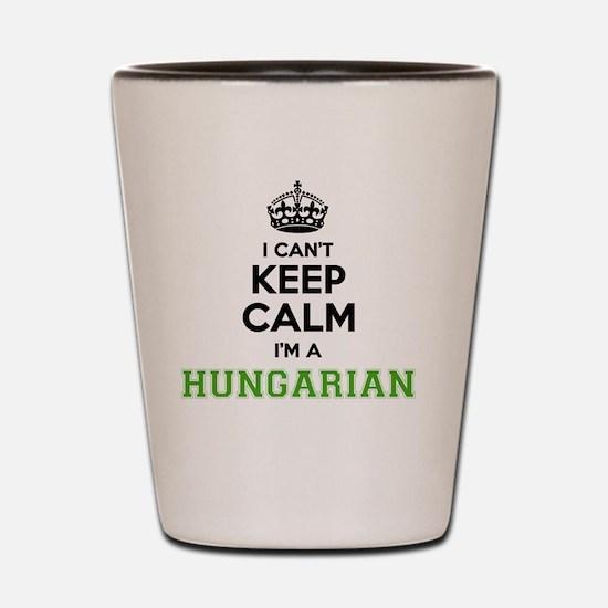 Funny Hungary Shot Glass