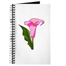 CALLA LILY FLOWER Journal