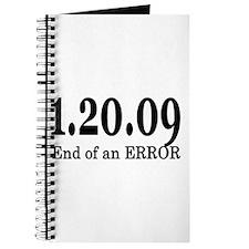 1/20/09 End of an Error Journal