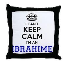Cool Ibrahim Throw Pillow