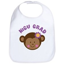 NICU Grad Girls cute Bib