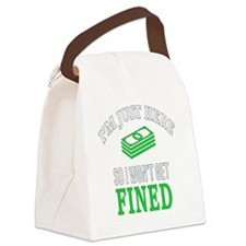 Just here Canvas Lunch Bag