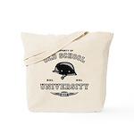 Old School Biker Tote Bag