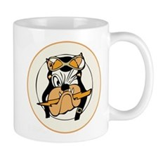 Cute Warbirds nose art Mug