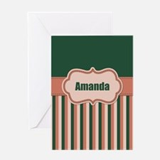 Stripes2015A3 Greeting Card