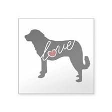 "Anatolian Shepherd Square Sticker 3"" x 3"""