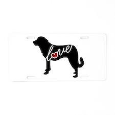 Anatolian Shepherd Aluminum License Plate