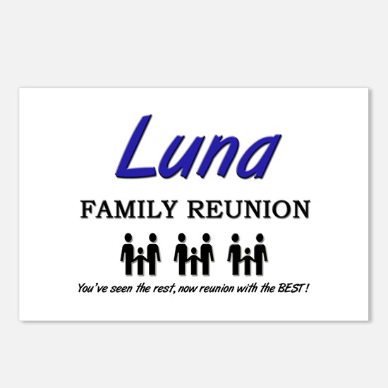 Luna Family Reunion Postcards (Package of 8)
