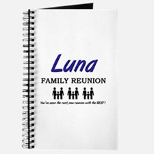 Luna Family Reunion Journal