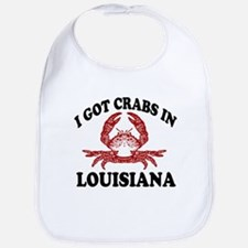 I got crabs in Louisiana Bib