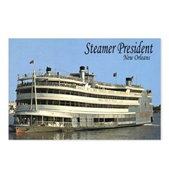 Steamer President Postcards (Package of 8)