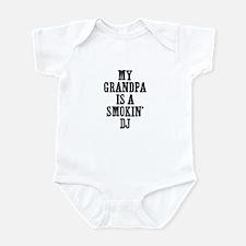 my grandpa is a smokin' DJ Infant Bodysuit