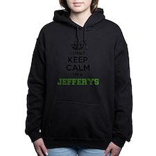 Unique Jeffery Women's Hooded Sweatshirt