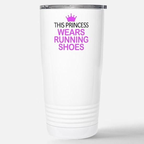 Running Shoes Princess Stainless Steel Travel Mug