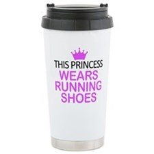 Running Shoes Princess Travel Mug