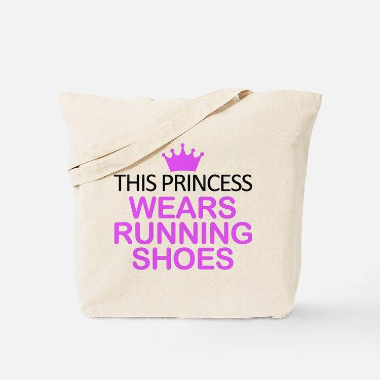 Running Shoes Princess Tote Bag