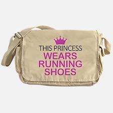 Running Shoes Princess Messenger Bag