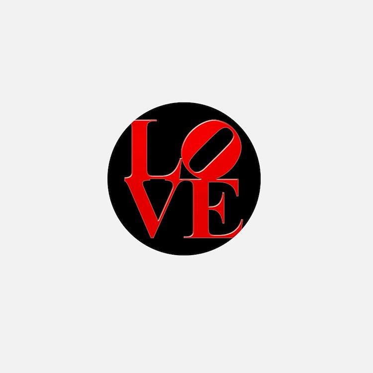 Love Mini Button