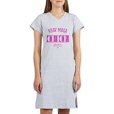 Krav Maga Chick - PINK Women's Nightshirt