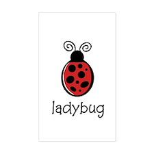Ladybug Sticker (Rect.)