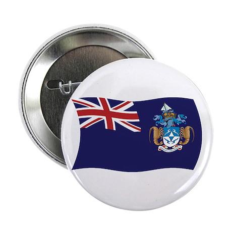"""Tristan Da Cunha Flag 2.25"""" Button (100 pack)"""