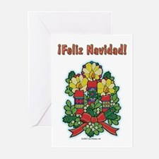 Feliz Navidad Greeting Cards (6)
