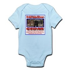 Support GSDAR No-Kill Animal Rescu Infant Bodysuit