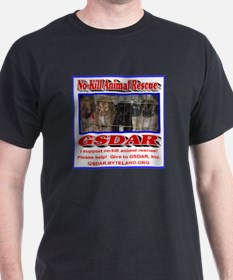 Support GSDAR No-Kill Animal Rescue T-Shirt