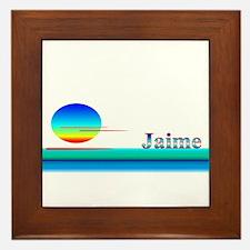 Jaime Framed Tile