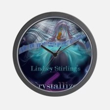 Lindsey Stirling - Crystallize Wall Clock