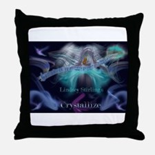 Lindsey Stirling - Crystallize Throw Pillow