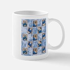 Blue Crab Pattern Mugs