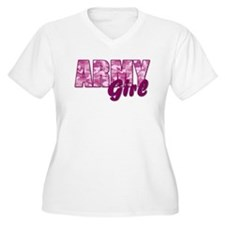 Army Girl Plus Size T-Shirt