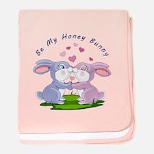 Honey Bunny- baby blanket