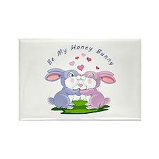 Honey Bunny- Rectangle Magnet