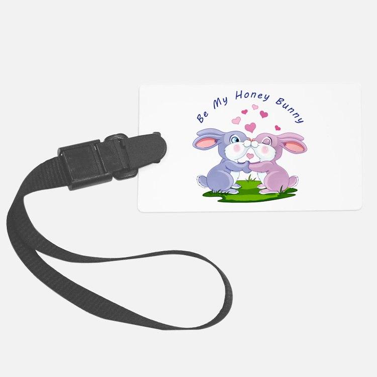 Honey Bunny- Luggage Tag