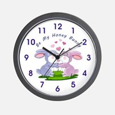 Honey Bunny- Wall Clock