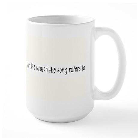 """""""Wretch"""" Large Mug"""