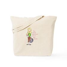 MOST IMPORTANT JOB Tote Bag