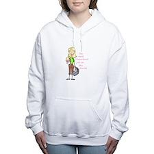 MOST IMPORTANT JOB Women's Hooded Sweatshirt