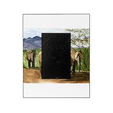 African Elephants of Kenya Picture Frame