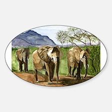 African Elephants of Kenya Decal