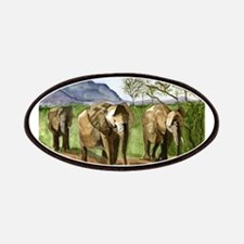 African Elephants of Kenya Patches