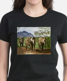 African Elephants of Kenya T-Shirt
