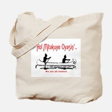WE ARE ALL RELATED Tote Bag