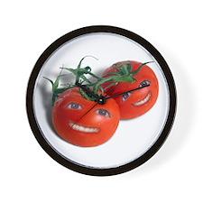 Sweet Tomatoes Wall Clock